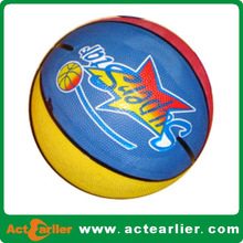 cheap mini rubber promotion basketball