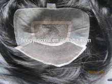 hand tied wig 100% human hair human wigs toupee