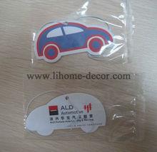 Shenzhen Lihome car design hanging paper air freshener for car