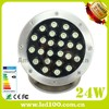underwater led lights for fountains IP68 24W ip68 led pool light