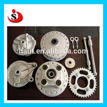 Motorcycle rear and front wheel hub assembly for YAMAHA /Suzuki / BAJAJ / KTM