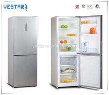 Home appliance double doors best design refrigerator