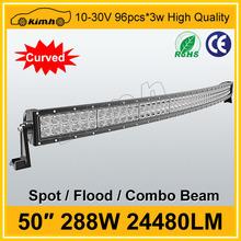"Wholesale 50"" 24480LM led alloy work light bar flood spot"