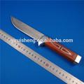 """7"""" fixo blade punho de madeira ao ar livre de sobrevivência militar faca de caça"""