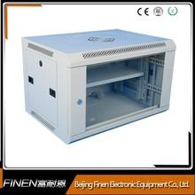 Wall Mount IT Server Data Network Cabinet Rack Glass Door Locking Lockable - 6U