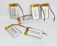 High Power li-ion Battery Pack 3.7V 400mAh 1.2V 1.5V Li-ion Rechargeable Battery For Toys