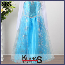 Party Halloween wholesale Girls Frozen Anna Costume Deluxe - Frozen princess elsa dress cosplay costume in frozen