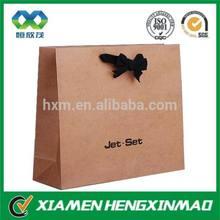 Custom craft paper bag&craft paper shopping bag