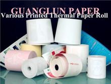 2015 Multi Color Thermal Paper Printing