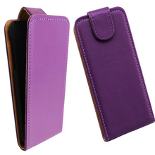 Hot sale flip leather back hard cover case for sony xperia sp m35h