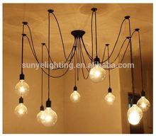 Simple Vintage Industrial antique fiber optic pendant light