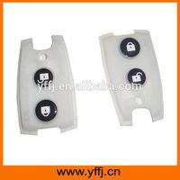 Custom silicone remote control car key pad