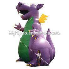 inflatable dragon advertising cartoon