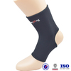 China Black Adjustable Soccer Ankle Guard physical therapy orthopedic sports neoprene fabric for sale waterproof ankle protector