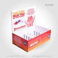 ponto de venda caixa de papel do contador de produto caixa de exibição