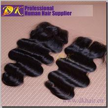 Factory Virgin Brazilian Hair Top Closure meche de cheveux
