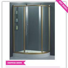 HS-SR829 d shaped shower enclosure/ corner shower enclosure/ shower encloser