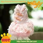 Hot sale wedding dresses for dogs,2014 new pet dog products, unique pet products wholesale