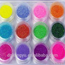 business card nail glitter powder tire