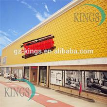 composite exterior wall siding from KINGS anti acid anti UV anti heat waterproof