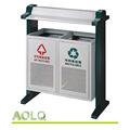 Ferro de lixo bin, ferro de alta qualidade lixeira, lixo galvanizado/lixeira