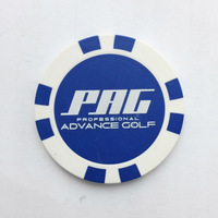 custom casino chips golf ball marker