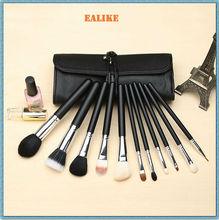 2014 best ealike Free Sample Goat/Synthetic Hair custom makeup brush set wholesale