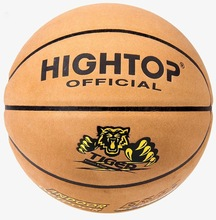 TOP Quality Genuine Leather Laminated stress basketball ball for Match, Training