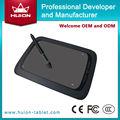 China huion assinatura eletrônica almofadas/comprimidos gráficos preto