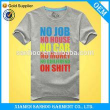 China New Product 100% Cotton Summer Import T Shirts