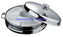 Divided Ceramic Hot Chafing Dish/ Food Warmer & Buffet Server