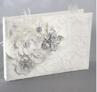 Wedding decoration wedding signature guest book Genevieve Wedding Guest Book