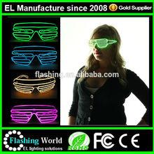 el glasses/Fashionable fluorescence dancing el glasses
