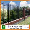 Wrought iron fence used