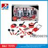 Simulation Kitchen Play Set, DIY Kids Plastic Play Kitchen Toy Set HC208878