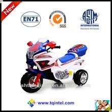 three wheels ride on remote control electric children car