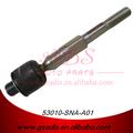 Para fa1/cívica de piezas de automóviles de acero suspensión de dirección conjunta de bola de metal para los coches de honda oem: 53010-sna-a01