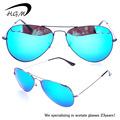 métal lunettes de soleil aviateur
