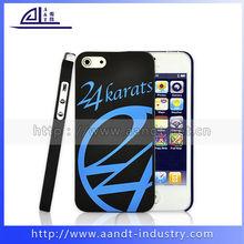 Original Black PC Cases for iphone 5s Anti-slip smart Cover