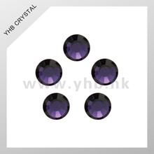 Wholesale Middle East hot fix rhinestones Purple Velvet ss6 ss16 ss20
