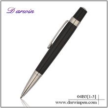 Wholesale promotional office metal short ballpoint pen