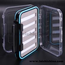 In stock slit foam waterproof small plastic fly box