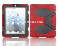 Rugged kidsproof case for iPad 3 iPad 4 school students using iPads cover