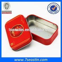 Wholesale metal gift tea tin can health food tin box