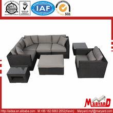 Hot rattan sofa set leisure legless chair sofa