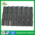 純粋な黒カスタム- は、 pvcを作った優れたプラスチックプラスチックpvc波屋根住宅用タイル