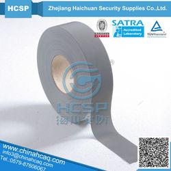 high retro reflection reflective fabric,silver Reflective T/C fabric,high reflective tape fabric silver TC backing
