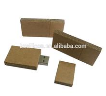 Recycled cardboard usb flash drive,bulk usb cheap ,paper usb