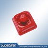 red color, square, addressable fire alarm system