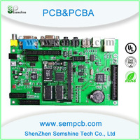 PCB production for electronic typewriter in fr4 materia and including assemly service